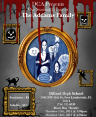 Addams Family Musical Tribute